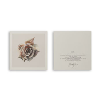 Love Rose ArtCard