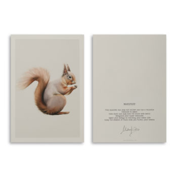 Manifest Squirrel Artcard